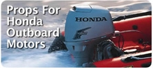 Honda Outboard Boat Propellers