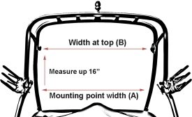 Measure your tower width
