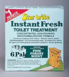 Instant Fresh Toilet Treatment, Pine, 6 Pack - Star Brite
