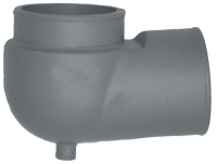 "Exhaust Manifold ReDirectional Elbow with 4"" Outlet for Crusader 97624, Barr CR 20 97624 - Sierra"