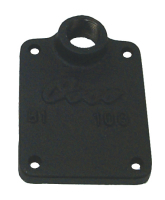 Exhaust Manifold End Plate with Hole - Sierra