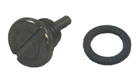 Magnetic Drain Screw for Johnson/Evinrude 318544, OMC Sterndrive/Cobra, GLM 21731 - Sierra