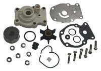 Water Pump Repair Kit with Housing for Johnson/Evinrude 393630, GLM 12070 - Sierra