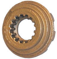 Brass Propeller Castle Washer - Sierra