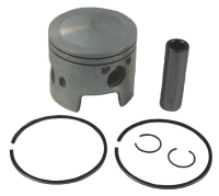 Standard Bore Piston Kit for Johnson/Evinrude 436860, Vertex Pistons 2739STD, Wiseco 3143PS - Sierra