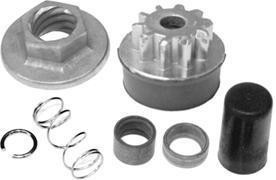 MES, Johnson, Evinrude, OMC Sterndrive Cobra Starter Drive Assembly 2-piece Drive Kit DVK72 - Arco