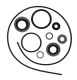 Lower Unit Gear Housing Seal Kit for Johnson/Evinrude, GLM 87606 - Sierra