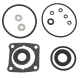 Lower Unit Gear Housing Seal Kit for Johnson/Evinrude, GLM 87608 - Sierra