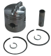 2 Ring .015 OS Bore Inline Piston Kit Low Dome - Sierra