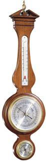 Howard Miller Thermometer, Presque Isle Thermometer, Barometer & Hygrometer