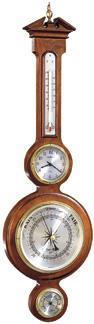 Howard Miller Catalina Thermometer, Clock, Barometer & Hygrometer