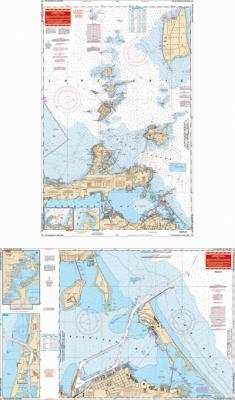 The Islands of Lake Erie Nautical Marine Charts - Waterproof Charts