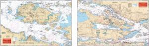 Clayton & Alexandria Bay, New York Nautical Marine Charts - Waterproof Charts
