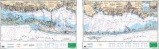 Great South Bay, New York Nautical Marine Charts, Large Print - Waterproof Charts
