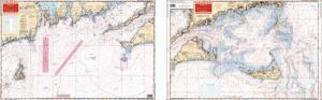 Block Island to Chatham, Massachusetts Nautical Marine Charts - Waterproof Charts
