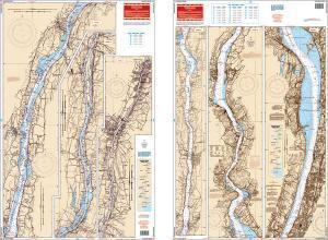 Hudson River, New York, New Jersey Nautical Marine Charts - Waterproof Charts