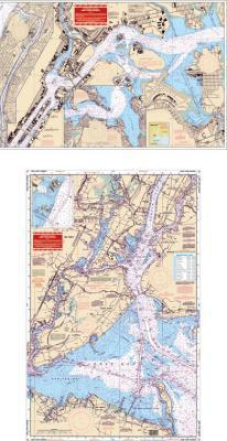 New York Harbor Nautical Marine Charts - Waterproof Charts