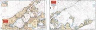 Peconic & Gardiners Bays, New York Nautical Marine Charts - Waterproof Charts