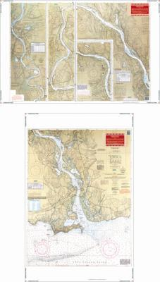Connecticut River Nautical Marine Charts - Waterproof Charts