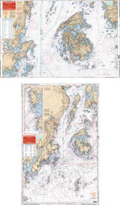Penobscot Bay, Camden & Rockport, Maine Nautical Marine Charts - Waterproof Charts