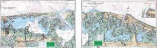 Little Egg Harbor to Atlantic City, New Jersey Nautical Marine Charts, Large Print - Waterproof Charts