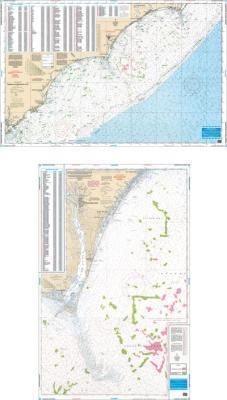 Charleston to Cape Lookout, South Carolina Fish & Dive Nautical Marine Charts - Waterproof Charts