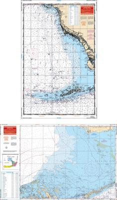 Sanibel to Middle Keys, Florida Nautical Marine Charts - Waterproof Charts
