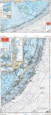 Upper Florida Keys Nautical Marine Charts - Waterproof Charts