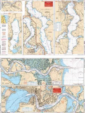 St. Johns River & Jacksonville, Florida Nautical Marine Charts - Waterproof Charts