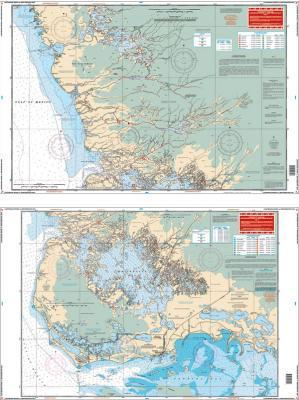 Lostmans River and Whitewater Bay, Florida Nautical Marine Charts - Waterproof Charts