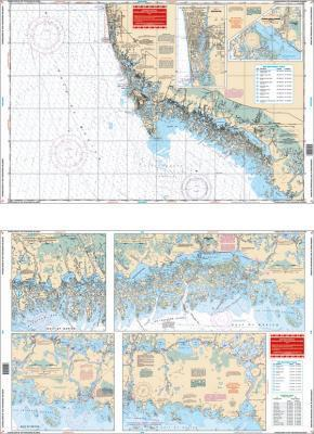 Everglades & Ten Thousand Islands, Florida Nautical Marine Charts - Waterproof Charts