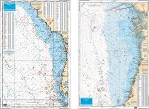 NW Florida Fish & Dive Nautical Marine Charts - Waterproof Charts