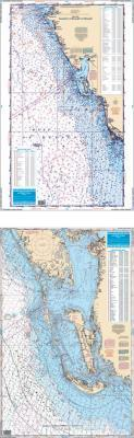 SW Florida Fish & Dive Nautical Marine Charts - Waterproof Charts