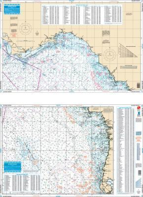 Big Bend, Florida Fish & Dive Nautical Marine Charts - Waterproof Charts