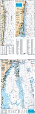 Jupiter Inlet to Elliot Key, Florida Fish & Dive Nautical Marine Charts - Waterproof Charts