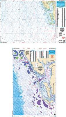 Venice to Sanibel, FLorida GPS Bathymetric Fish & Dive Nautical Marine Charts - Waterproof Charts