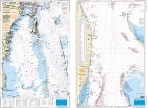 SE Florida Swordfish and Trolling Chart Fish & Dive Nautical Marine Charts - Waterproof Charts