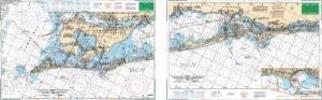 Anna Maria Sound & Sarasota Bays, Florida Nautical Marine Charts, Large Print - Waterproof Charts