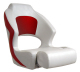 Deluxe Sport Flip Up Chair, White & Red - Springfield