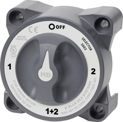 HD-Series Battery Switch Selector with Alternator Field Disconnect - Blue Sea Systems