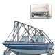 Navigloo Boat Shelter With Tarp for 14 ft. -  …