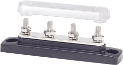 MiniBus, 4 x #10-32 Stud Terminal w/Cover - Blue Sea Systems