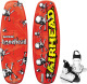 Bonehead II Wakeboard, 124cm, with Juice Youth Bindings - Airhead