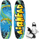 Splash Wakeboard, 124cm, with Juice Youth Bindings - Airhead
