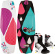 Jett Wakeboard, 136cm, Size 8-11 Bindings - L …