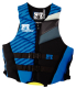 Men's Neoprene Life Jacket Phatom Series by Sport Dimension; Royal/Black