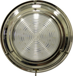 "S.S. Dome Light, 5-1/2"", 3 LED, Warm White - Seasense"