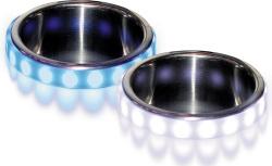 LED Cup Holder Accent Bezel, White - SeaSense