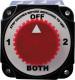 Battery Switch, OFF/1/BOTH/2 - Seasense