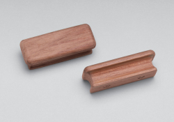"Rectangular drawer pull, 2-3/4"" long, 2 pk - Whitecap"